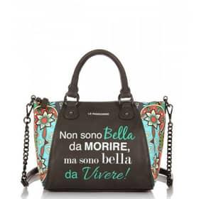 Handbag Pandorine Collection - Bowling bag Black