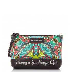 Handbag Pandorine Collection - Clutch Black