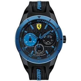 SCUDERIA FERRARI watch REDREV T - 0830256