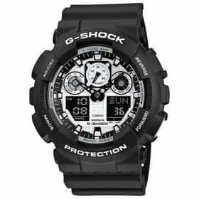 CASIO watch G-SHOCK - GA-100BW-1AER