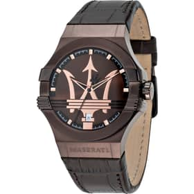 b0be8fb5468dc2 Multifunction Watch for Male Maserati R8851108020 2017 Potenza