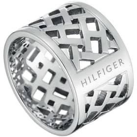 ANELLO TOMMY HILFIGER CLASSIC SIGNATURE - THJ2700743C