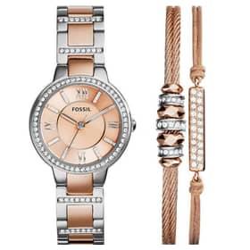FOSSIL watch VIRGINIA BOX SET - ES3697SET