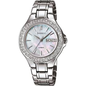 CASIO watch SHEEN - SHE-4800D-7AUER
