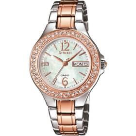 CASIO watch SHEEN - SHE-4800SG-7AUER