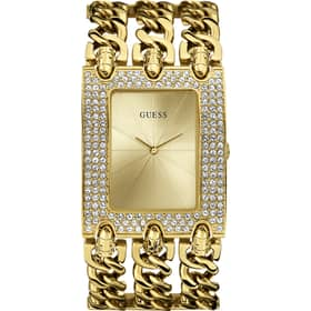 GUESS watch HEAVY METAL - W0085L1