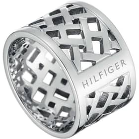 ANELLO TOMMY HILFIGER CLASSIC SIGNATURE - 2700743B