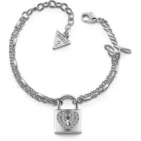 ARM RING GUESS HEART LOCK - UBB85116-S