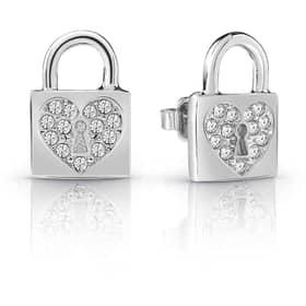 EARRINGS GUESS HEART LOCK - UBE85053