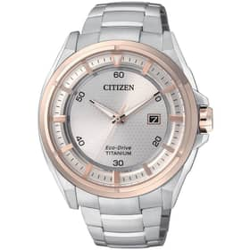 Orologio CITIZEN CITIZEN SUPERTITANIUM - AW1404-51A