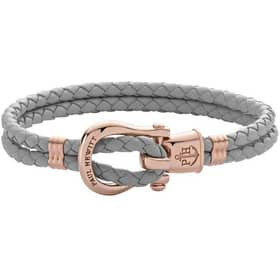 BRACCIALE PAUL HEWITT PHINITY SHACKLE - PH-FSH-L-R-GR-M