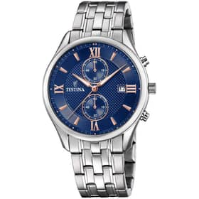 FESTINA watch TIMELESS CHRONOGRAPH - F6854/6