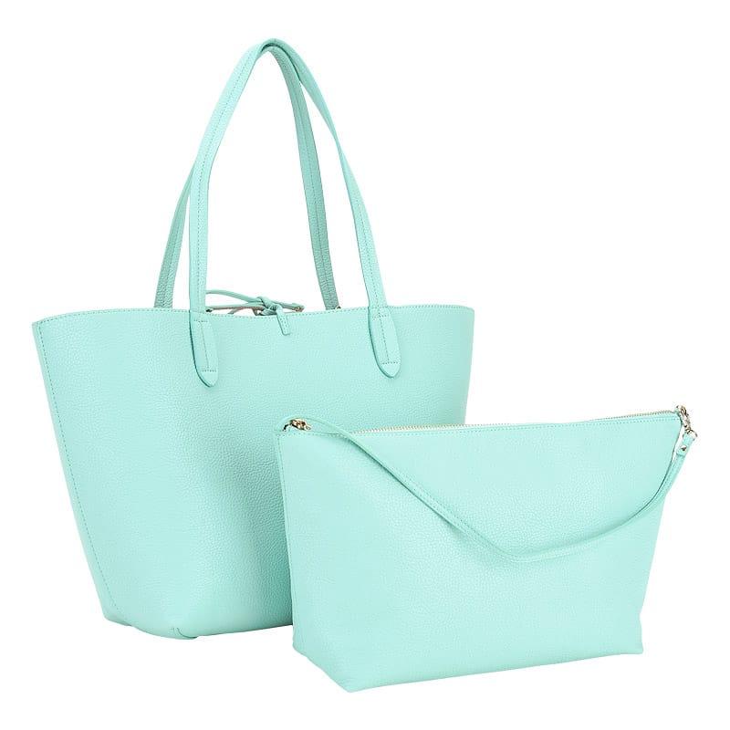 BORSA GUESS Originale Shopping Bag Verde Acqua Come