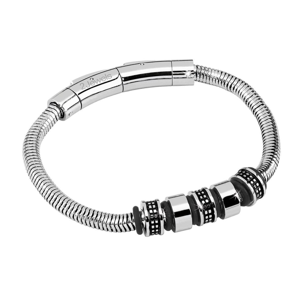 Image of BRACCIALE 2JEWELS EASY RIDER - 231339