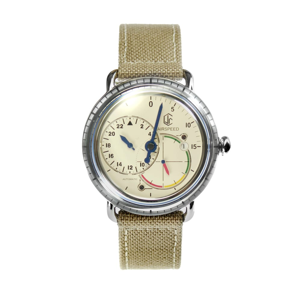 Image of Orologio CJR Airspeed - AS-SS-W-09