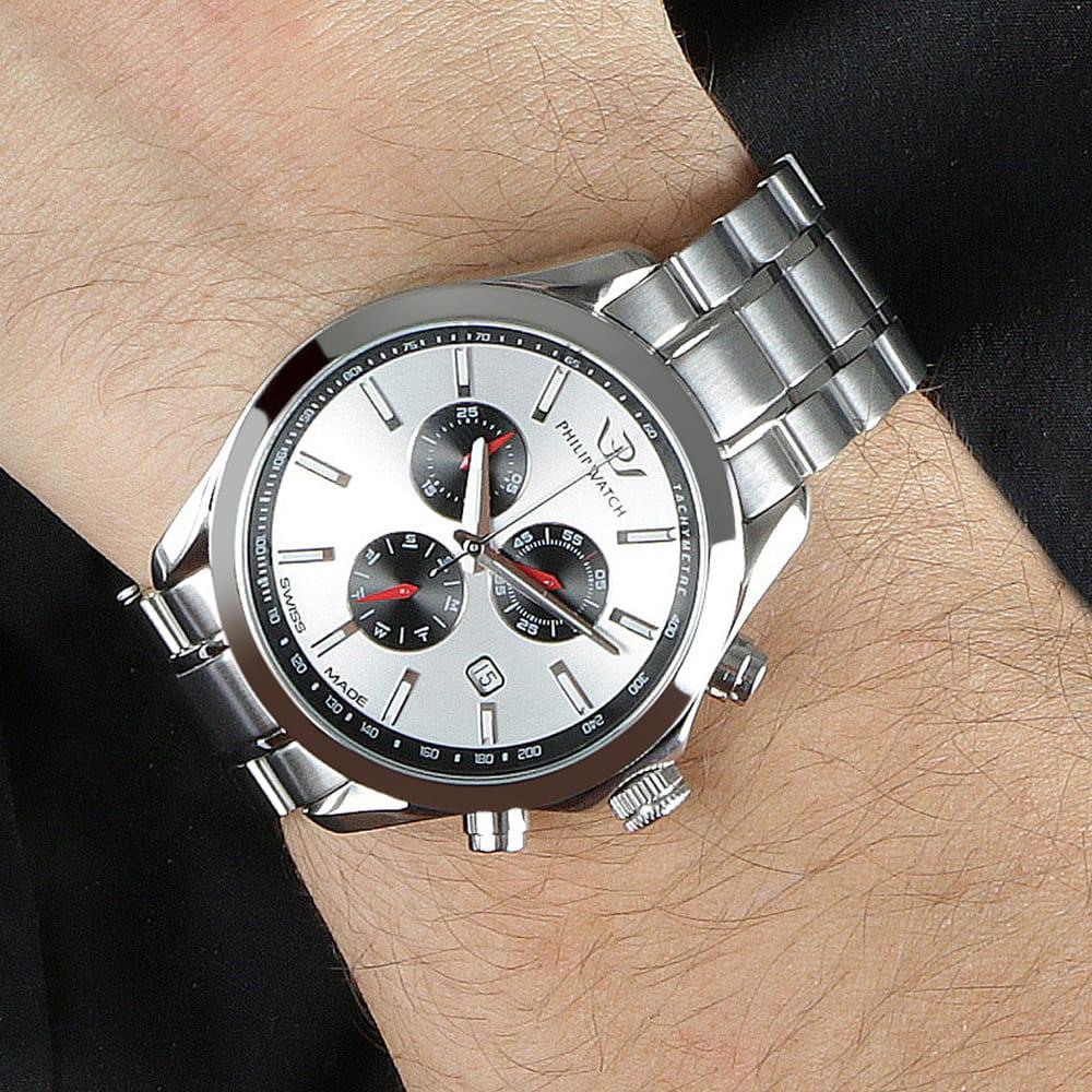 Orologio Cronografo da Uomo Philip Watch R8273665003, Blaze 2017