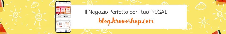Scopri tutte le novità, e le ultime tendenze nel Blog di Kronoshop