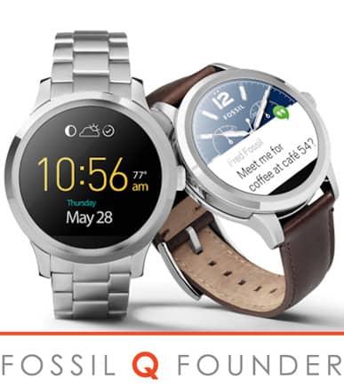 FOSSIL Q FOUNDER Scopri lo smartwatch Fossil con Android Wear!