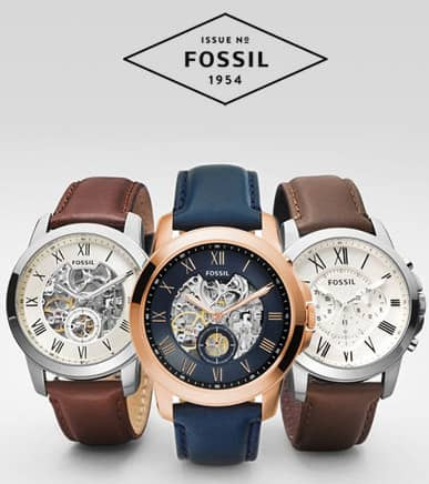 Fossil Scopri le Bellissime Novità 2016!
