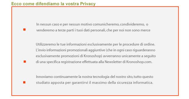 Privacy al sicuro