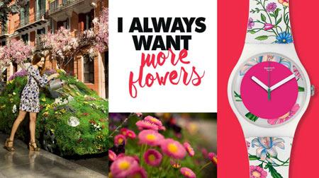 Collezioni Swatch Floralia