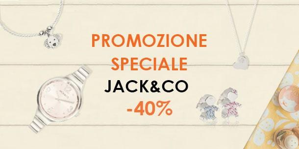 promozione Jack & Co