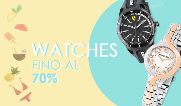 Watches summer sales