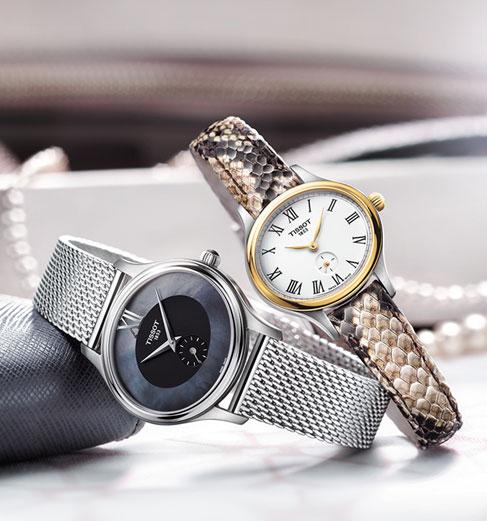 Choose the eleganceTissot