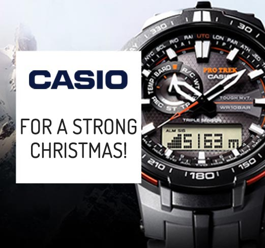 Gift ideas - Casio Promotions