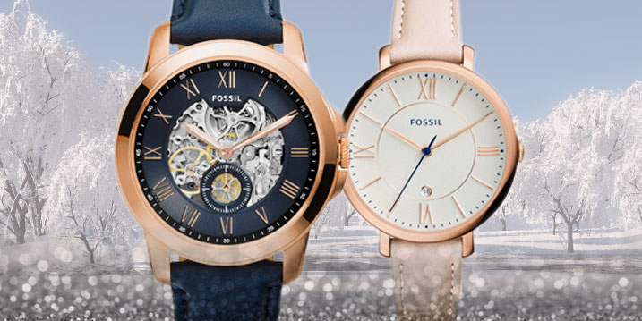 Fossil.The Brand of the moment!