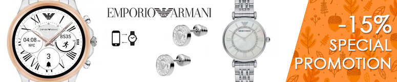 Special promotion Fossil Group - Emporio Armani -17%