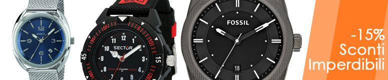 Promozione orologi Just time uomo -15%