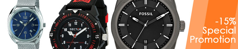 Just time men's watches promotion -15%