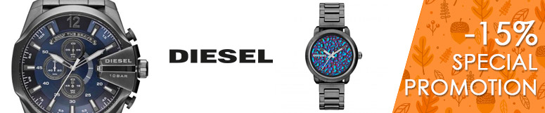 Special promotion Fossil Group - Diesel -15%