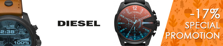 Special promotion Fossil Group - Diesel -17%