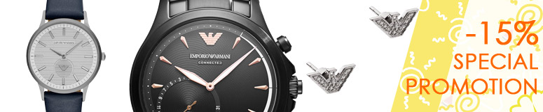 Special promotion Fossil Group - Emporio Armani -15%