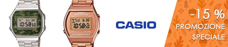 Promozione Casio Vintage -15%