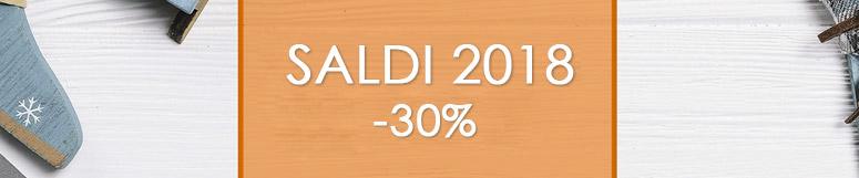 Saldi 2018 - 30%