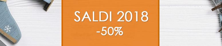 Saldi 2018 -50%