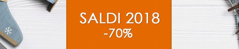 Saldi 2018 -70%