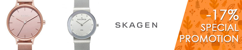 Special promotion Fossil Group - Skagen -17%