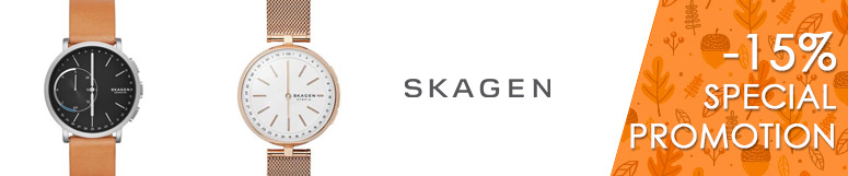 Special promotion Fossil Group - Skagen -15%
